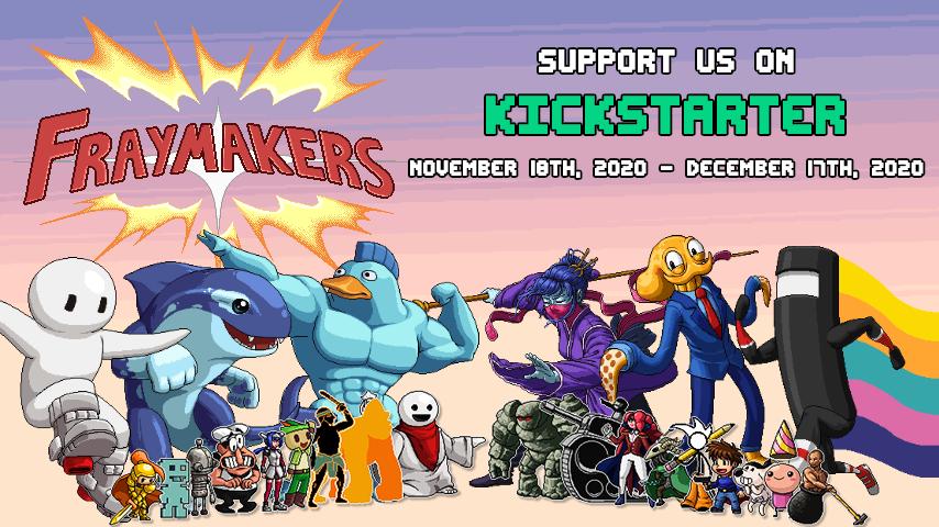 Fraymakers Kickstarter Promo