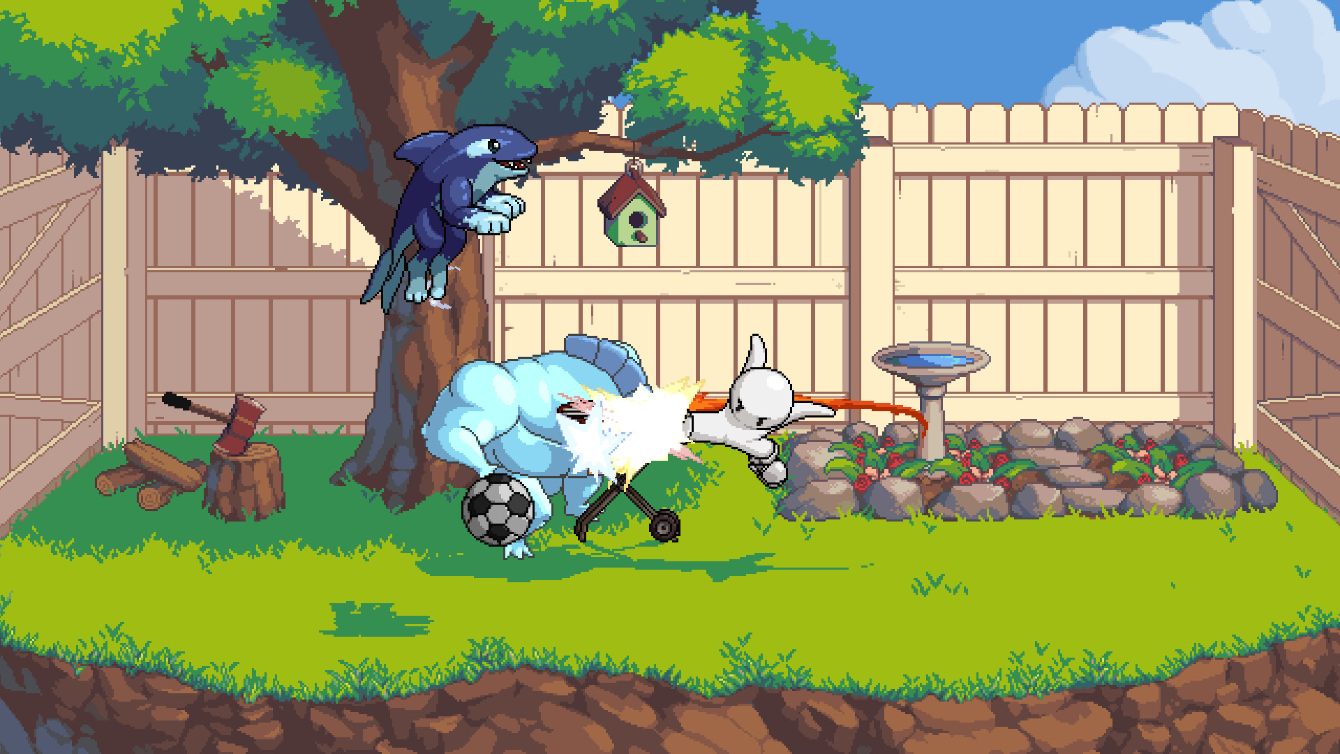 Fraymakers Gameplay Screenshot 1