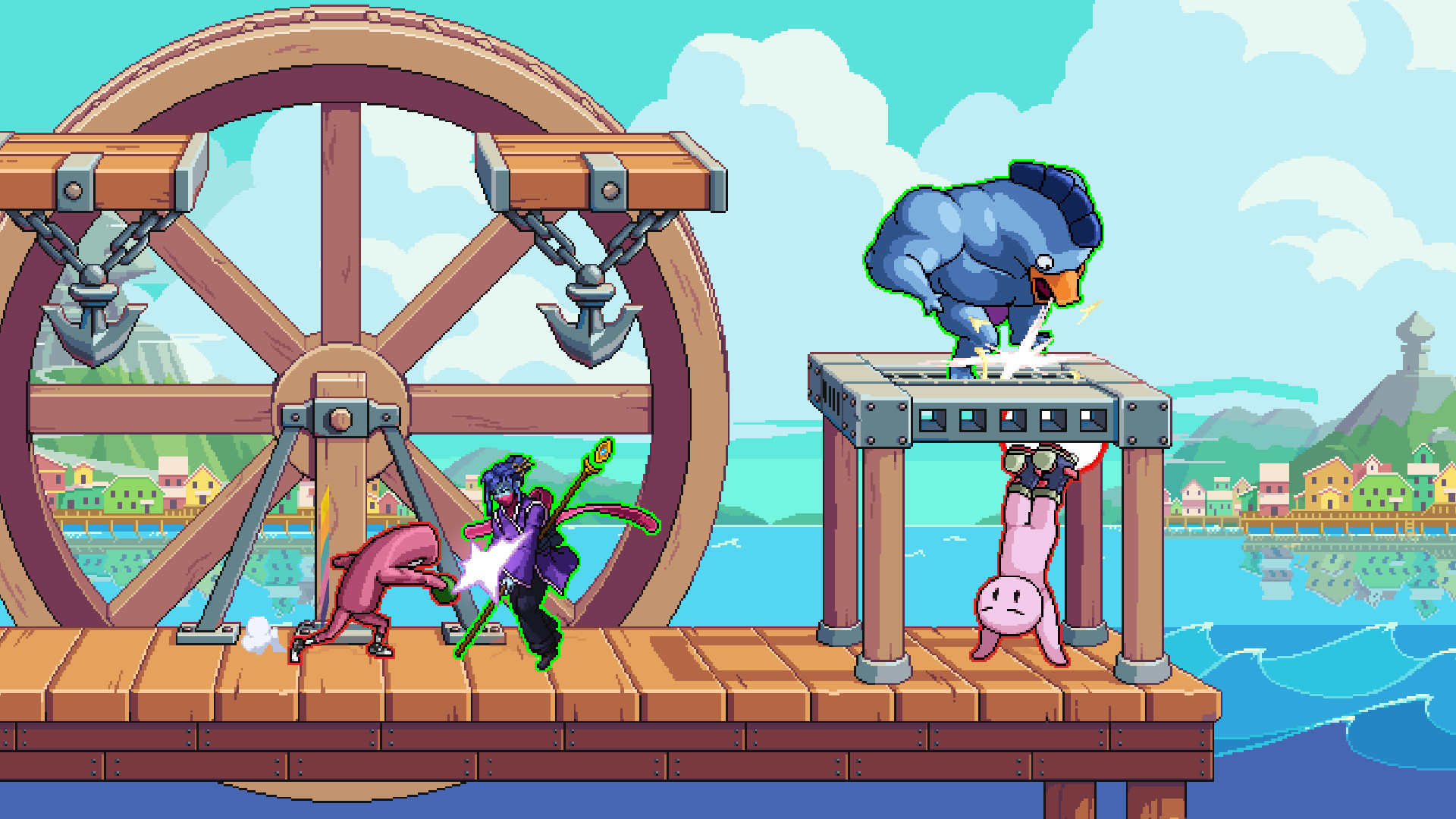Fraymakers Gameplay Screenshot 2